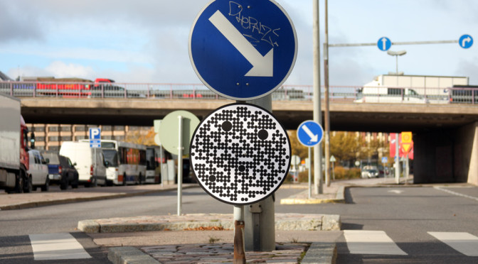 Road signs for robot cars
